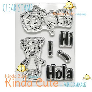 Kids clear stamp set from kindacutebypatricia.com