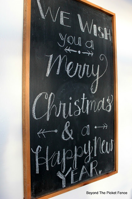 chalkboard, christmas sign, entryway, https://goo.gl/xpejCP