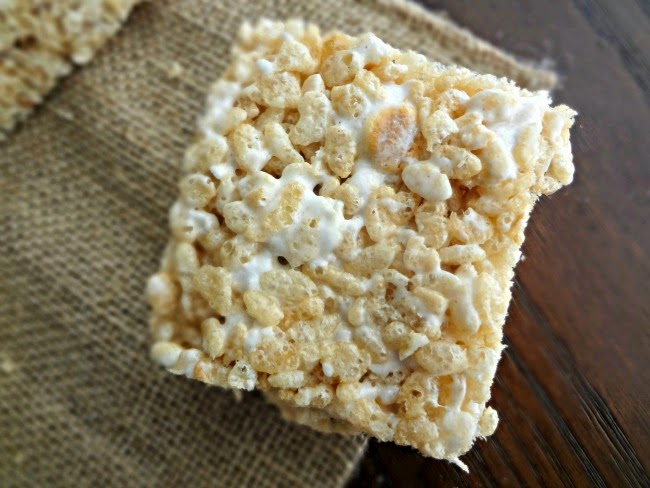 Toasted Marshmallow Brown Butter Krispie Treats