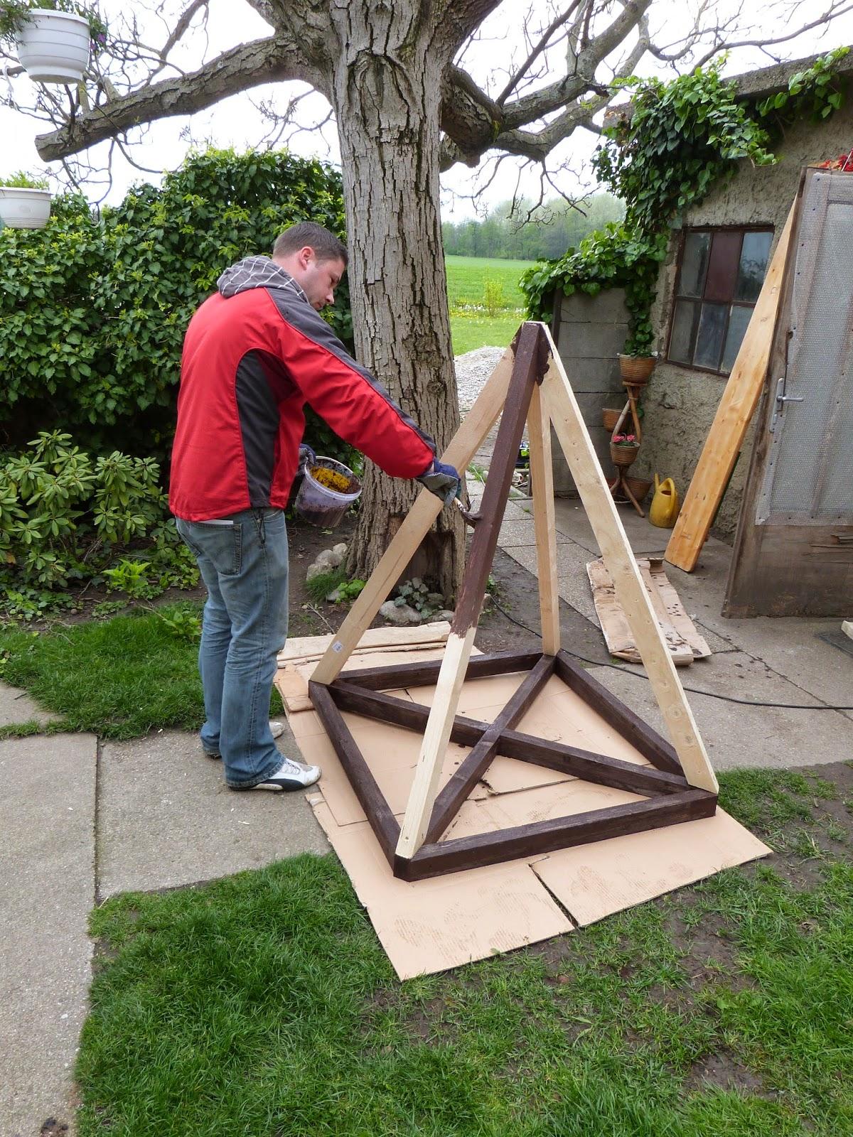 Unser Bautagebuch Pflanz Pyramide