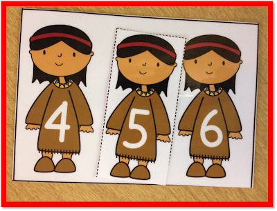 missing numbers, kindergarten math, november centers