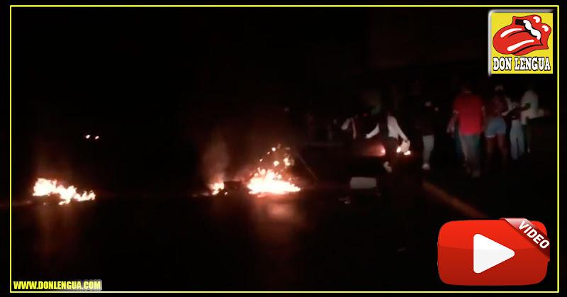 Protestas de calle en Caracas y enfrentamientos con PNB por falta de electricidad