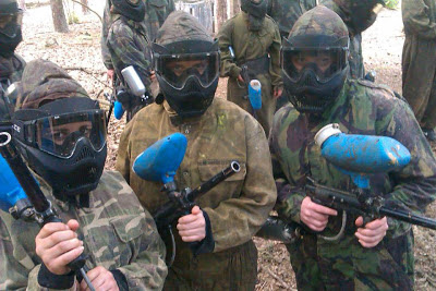 Paintballing Kent Sussex