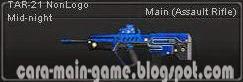 Senjata Point Blank TAR-21 NonLogo Mid-night