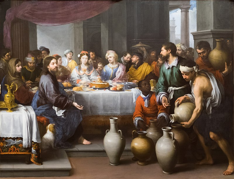 The Marriage Feast at Cana, c. 1672, The Barber Institute of Fine Arts