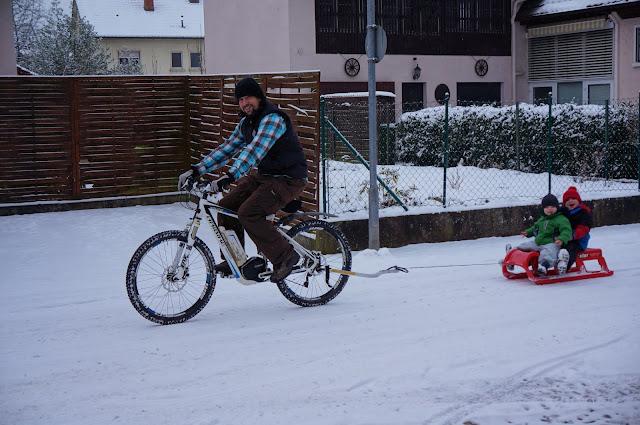 Mit dem eBike im Winter fahren geht auf jeden Fall!
