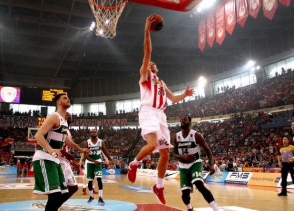 Ολυμπιακός - Παναθηναϊκός 77-72 (ΤΕΛΙΚΟ)