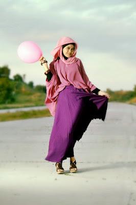 model hijab untuk wajah oval model hijab untuk perpisahan sekolah smp t