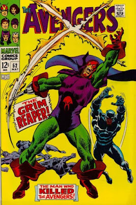 Avengers #52, the Grim Reaper