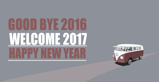 Goodbye 2016 Welcome New Year 2017 Wallpaper