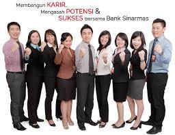 loker terbaru Bank SInarmas