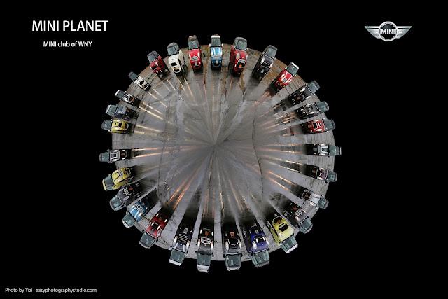 commercial photography photographer Yizi Lockport Amherst Buffalo MINI Planet WNY