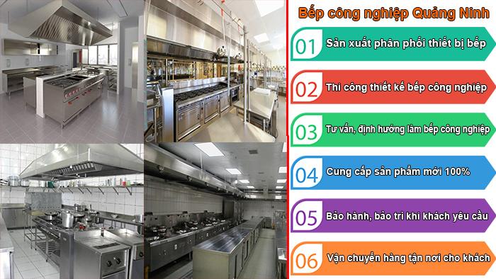 Bếp công nghiệp Quảng Ninh chất lượng làm nên thương hiệu