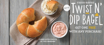 Einstein Bros. Bagels BOGO #TwistNDip