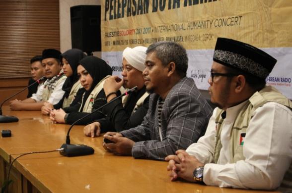 Gambar Hari Solidaritas Kemanusiaan International di gelar di Depok