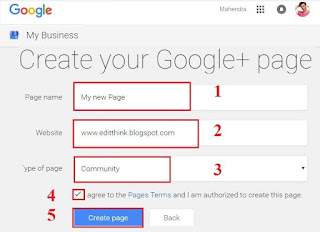 Create Google+ Page And Pramote Your Blog Or Website 2016