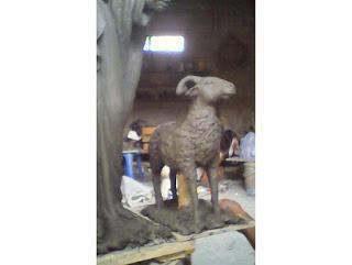 patung domba