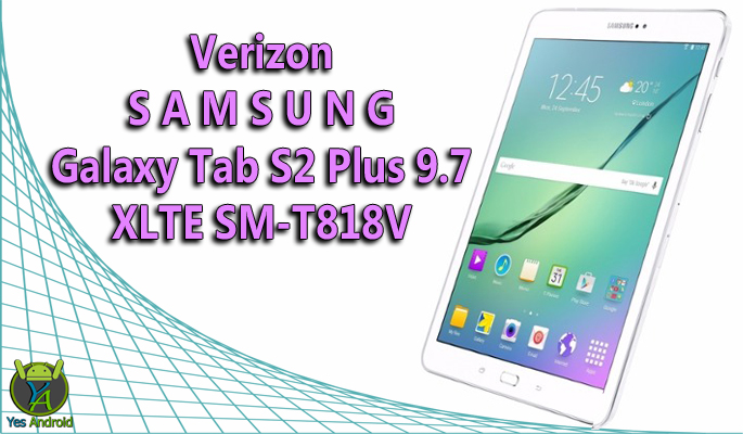 Verizon Samsung Galaxy Tab S2 Plus 9.7 SM-T818V Full Specs Datasheet