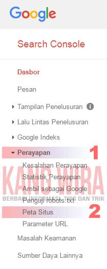 Cara Mudah Menambahkan Sitemap Blog Ke Google Webmaster 1