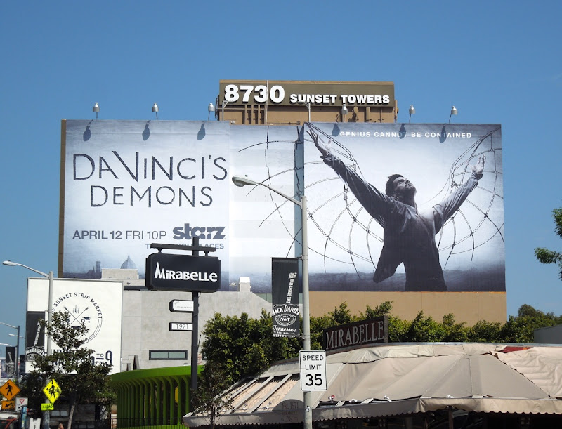 DaVincis Demons season 1 billboard