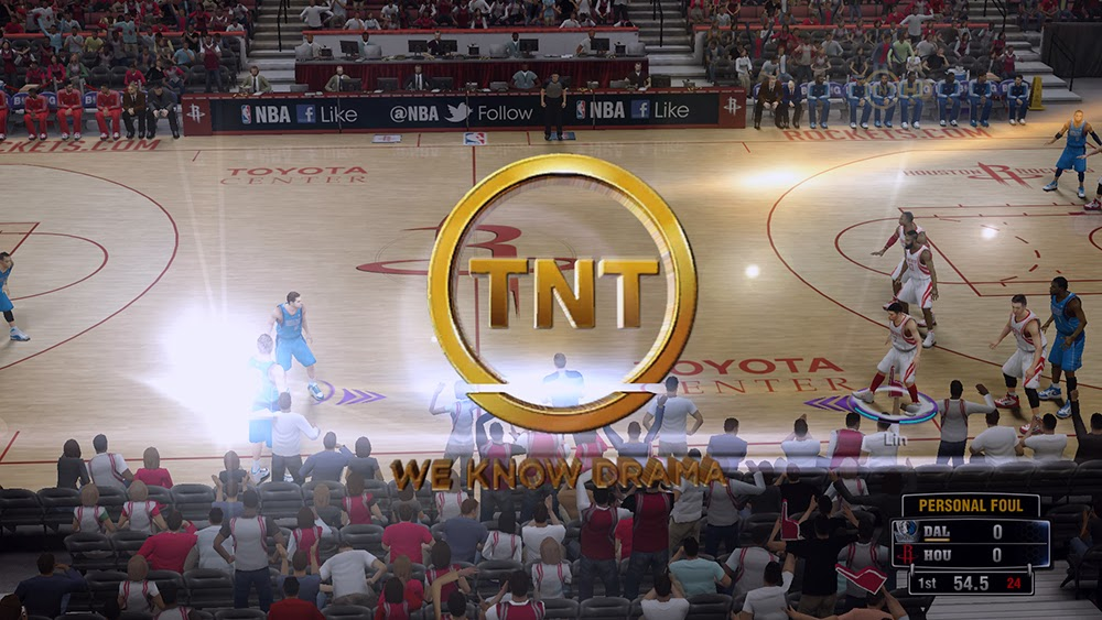 NBA 2K14 TNT Watermark Logo & Wipe Patch V2 - NBA2K ORG