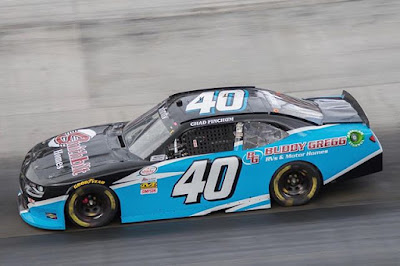 Chad Finchum To Make His 4th Xfinity Series Start at Bristol #NASCAR