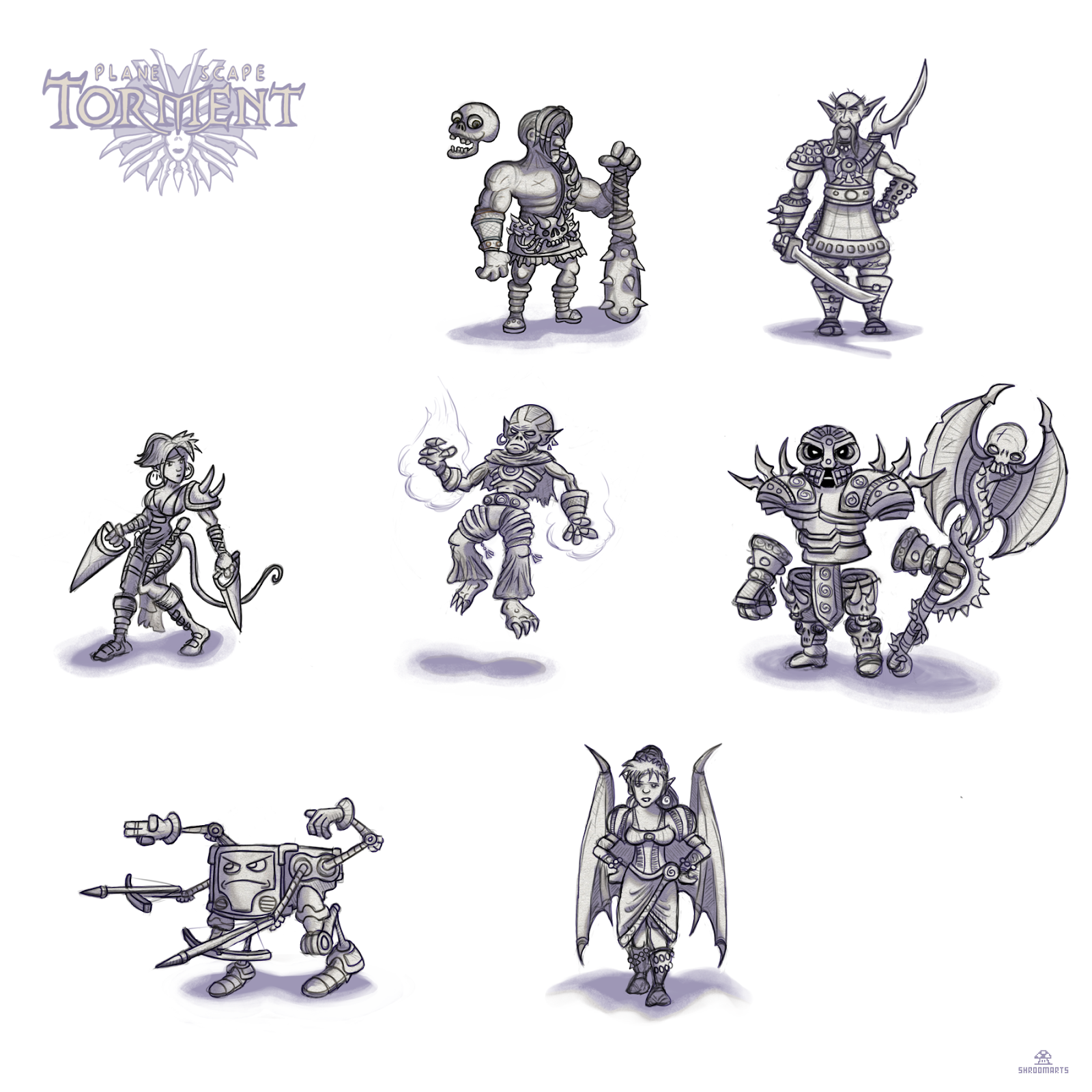 Companions from Planescape Torment 1999