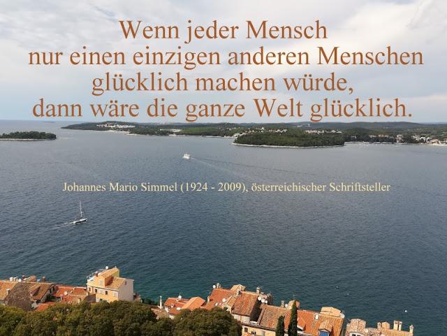Zitat - Quote: Johannes Mario Simmel
