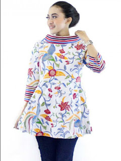 model baju batik modern wanita dewasa