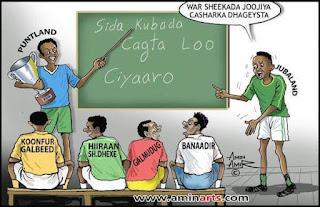 Football iyo amin arts sawirka cayaaraha Soomaali