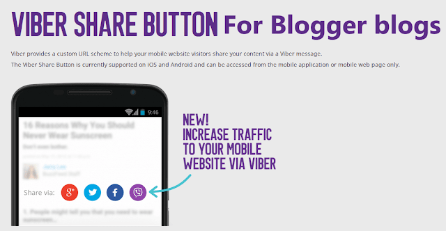 viber button blogger