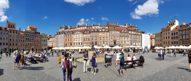 Plaza del Casco Antiguo de Varsovia