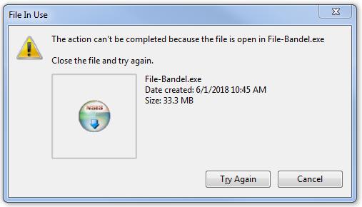 Cara Menghapus File Yang Tidak Dapat dihapus di Windows