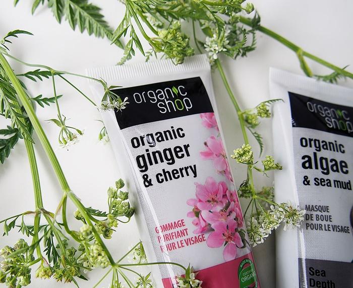 organic shop kasvojen kuorintavoide