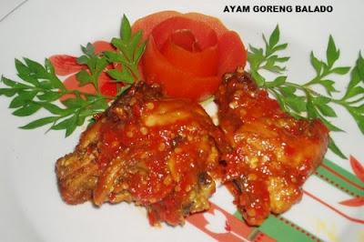 Resep Ayam Goreng Balado Spesial, Gurih dan Pedas