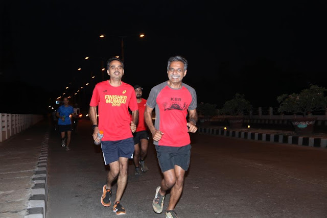 Airtel Hyderabad Marathon DRY RUN organised by Hyderabad Runners