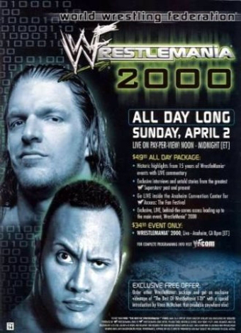 WrestleMania: WrestleMania 2000 Trish Stratus And Jeff Hardy 03.24.2003