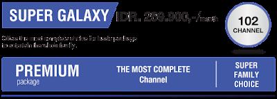 Paket Indovision SUper Galaxy terbaru 2016