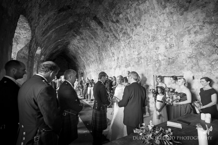 Inchcolm Abbey Wedding Ceremony