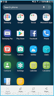 Samsung Galaxy S8 Launcher 2