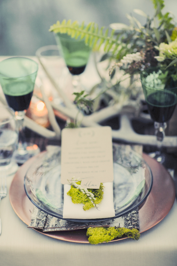 bride+groom+bridal+dress+gown+floral+hair+wreath+rustic+woodland+ecofriendly+eco+friendly+green+emerald+color+of+the+year+pantone+cake+dessert+table+reception+centerpiece+blue+hipster+fall+autumn+gideon+photography+38 - Woodland Fairytale