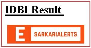 IDBI Result