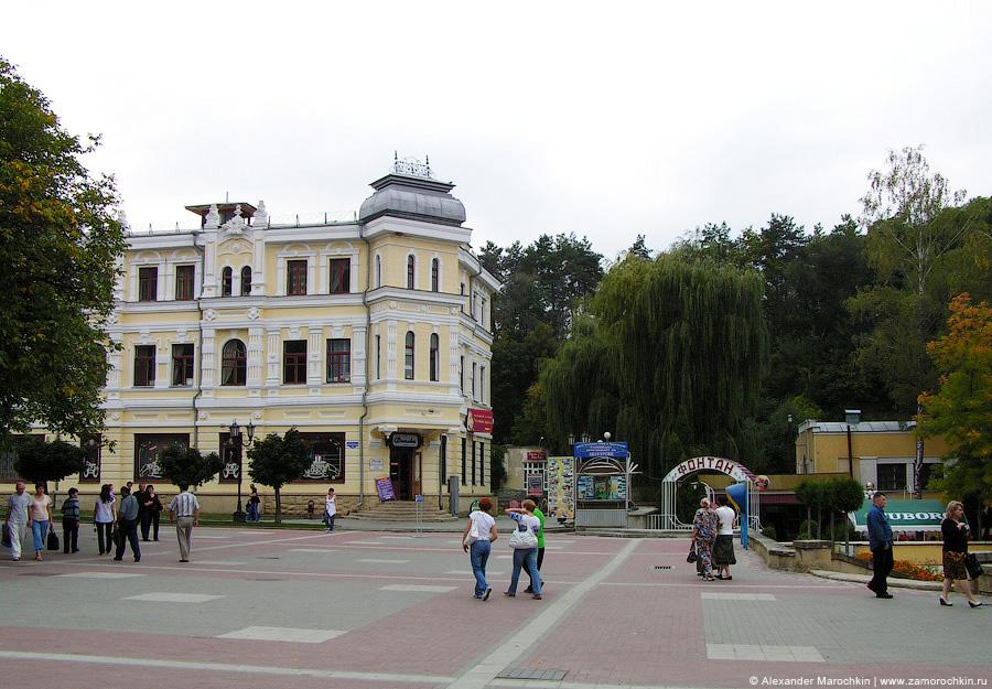 На Курортном бульваре Кисловодска