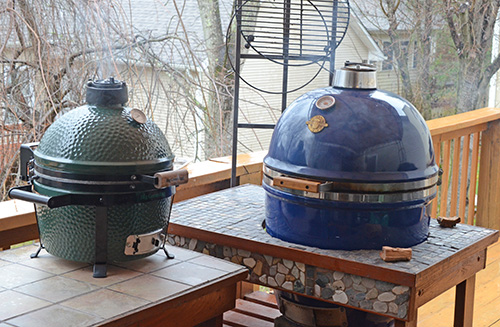 types of kamado grills, sizes of kamado grills