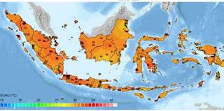 Suhu Panas Fenomena Equinox di Indonesia Bisa Capai 40 derajat
