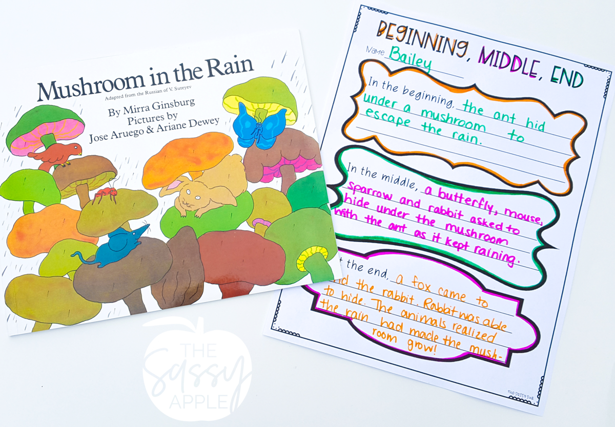 Lesson And Book Ideas For Teaching Sequencing Events