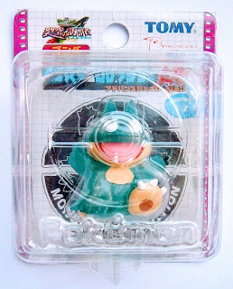 Munchlax figure clear figure Tomy MC 2004 movie promo