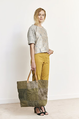 Soldes Sessun pantalon jaune