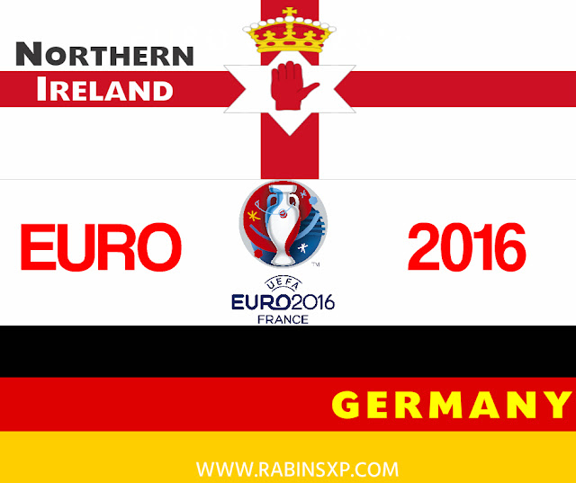 Northern Ireland Vs Germany Football Tournament-  Euro Cup 2016/Banner