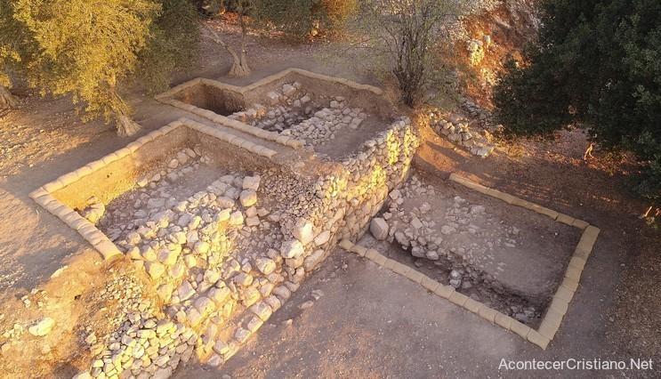 Ruinas arqueológicas en Quiriate-Jearim